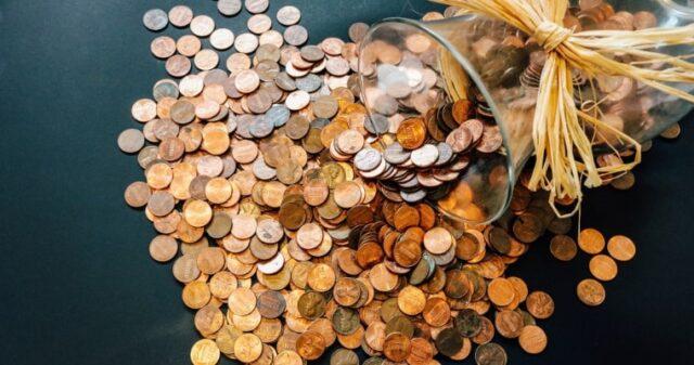 貯金箱の写真